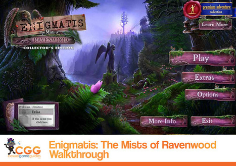 Enigmatis: The Mists of Ravenwood Walkthrough: From CasualGameGuides.com | Casual Game Walkthroughs | Scoop.it