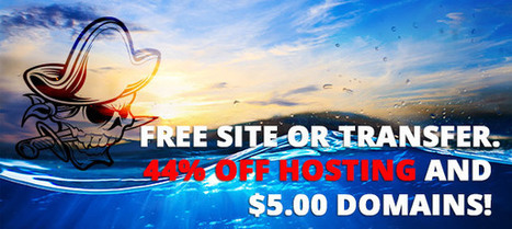 Free Website deal, five dollar domain and over 40% off hosting | Social | Scoop.it