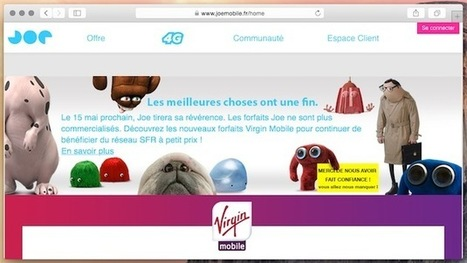 Joe Mobile ferme, les clients priés de passer chez Virgin | INFORMATIQUE 2015 | Scoop.it