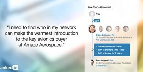 LinkedIn : lancement d'un nouvel outil de recommandation | Reseaux sociaux professionnels...pourquoi faire ? | Scoop.it