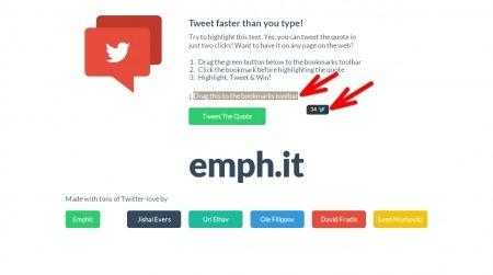 [Outil] Emphit Partager textes et citations sur Twitter   Social Media Curation par Mon Habitat Web   Scoop.it
