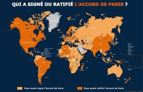Accord de Paris : 86 pays ont ratifié, représentant 62% des émissions de GES | Planete DDurable | Scoop.it
