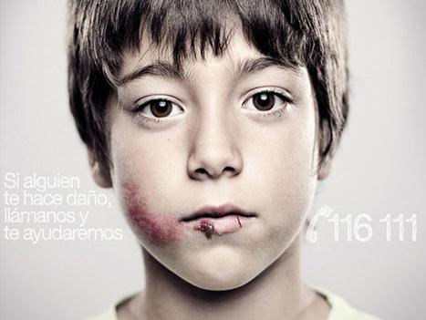 Seuls vos enfants peuvent voir le message caché de cette publicité contre la maltraitance | whynotblogue | Scoop.it