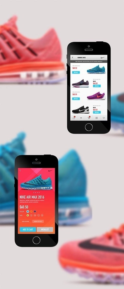 Web & Mobile UI UX Designs for Inspiration | WebsiteDesign | Scoop.it