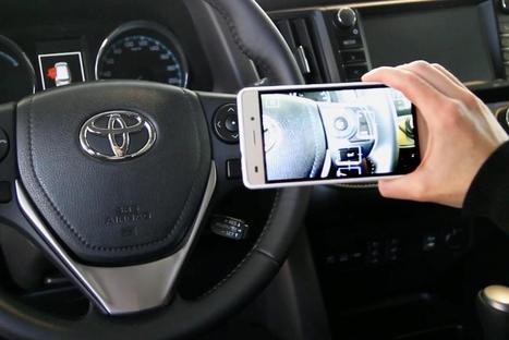 Toyota lance un manuel d'utilisation en réalité augmentée | AR | Scoop.it