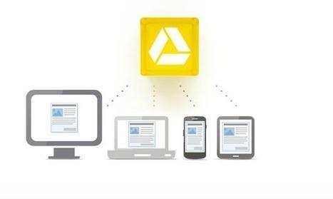 Bientôt un mode hors connexion pour Google Drive | toute l'info sur Google | Scoop.it