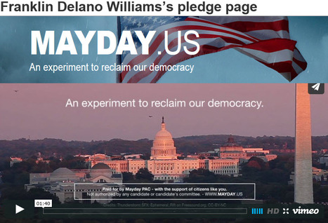 """Franklin Delano Williams's pledge page"" 