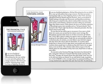 Rivista Digitale: The New Yorker Su iPhone | Creare Riviste Digitali Per iPad: Ultime Novità | Scoop.it