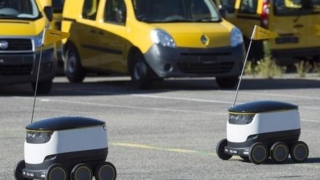 Un petit robot-facteur pour livrer les colis urgents | Les Postes et la technologie | Scoop.it