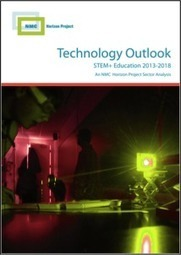 Get the Technology Outlook for STEM+ Education 2013-2018   The New Media Consortium   3D Printing  Robotics  Design  Composites and Manufacturing in CTE education   Scoop.it