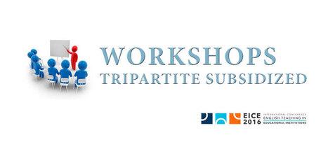 Congreso Enseñanza Inglés 2016 – Workshops Subsidized Tripartite | BEP Noticeboard - Tablón de Anuncios | Scoop.it