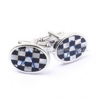 Masonic Onyx & Mother of Pearl Pavement Cufflinks | Masonic Gifts | Scoop.it