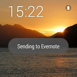 Evernote for Android Wear : vos notes au bout du poignet | Freewares | Scoop.it