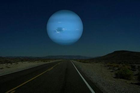 Sky Art Twitter / spacep0rn: If Neptune were as close to ...   Organic Sky Art   Scoop.it