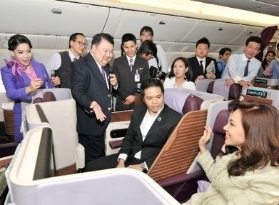 THAI unveils new cabin design | Travel Daily Asia | Tourism in Southeast Asia | Scoop.it