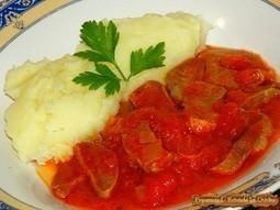 Limba de porc cu sos tomat | Food and recipes | Scoop.it