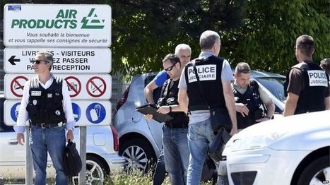 'Man decapitated' in French attack - BBC News | UNITED CRUSADERS AGAINST ISLAMIFICATION OF THE WEST | Scoop.it