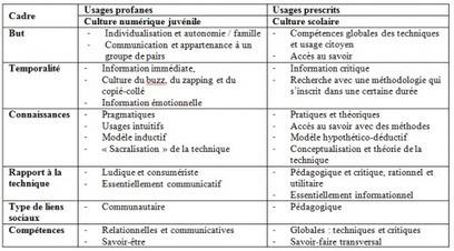 Culture et pratiques numériques juvéniles: Quels usages pour quelles compétences? | actions de concertation citoyenne | Scoop.it