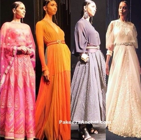 Tarun Tahiliani's presents Spring Summer Collection 2016 | Indian Fashion Updates | Scoop.it