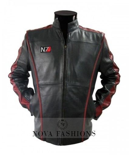 Mass Effect 3 Jacket at Arcfashions | N7 Leather Costume | Current Fashion Updates - 2015 | Scoop.it