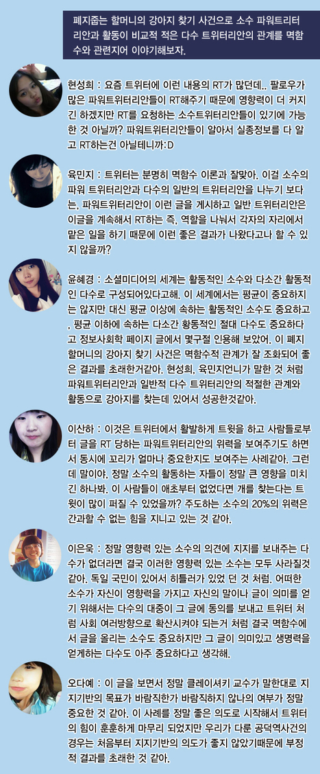 [토론 3] | 소셜미디어시대, 멱함수의시대 | Scoop.it