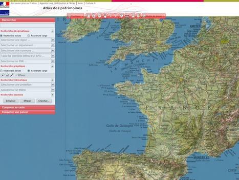 Atlas des patrimoines   Base de données de données   Scoop.it