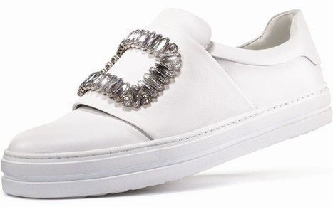Roger Vivier: first ever sneakers from the brand credited with creating the stiletto heel | Le Marche & Fashion | Scoop.it