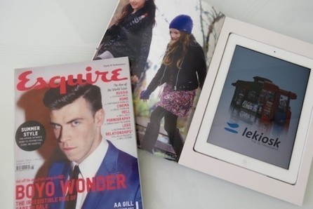 Magazine Covers Double As Anti-Theft Tablet Cases - PSFK | Digital and Social Media Marketing | Scoop.it