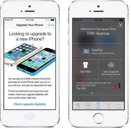 Las Apple Stores de EE.UU estrenan la tecnología iBeacon - ITespresso.es | Tecnologia | Scoop.it
