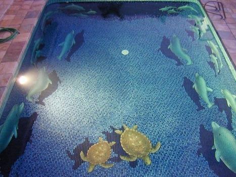 Décoration tridimensionnelle pour piscine, une merveille | Piscine, natation | Scoop.it