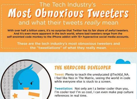 The Most Obnoxious Tweeters | Better know and better use Social Media today (facebook, twitter...) | Scoop.it