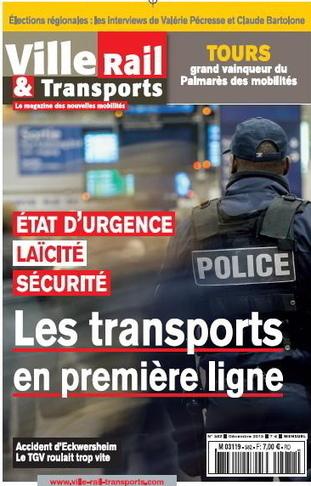 Ville Rail & Transports n° 582 - Décembre 2015nklkl   revue   Scoop.it