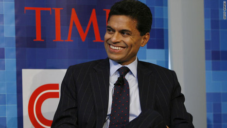 Fareed Zakaria named Harvard's 2012 Commencement speaker – Global Public Square - CNN.com Blogs | Entrepreneurship, Innovation | Scoop.it