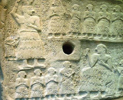 SEÑOR DEL BIOMBO: ARTE MESOPOTÁMICO. Placa de ur Nanshe | Conocer el Arte | Scoop.it