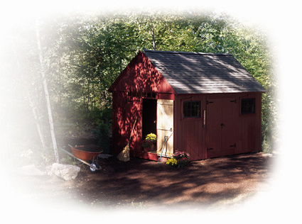 Build A Colonial-Style Storage Shed | shed plans | Scoop.it