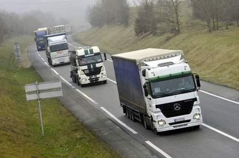 Le sort de l'écotaxe poids-lourds fixé après les élections européennes | Fiscalité - Impôts | Scoop.it
