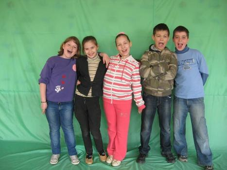 """Celebrating 25 Years of iEARN """"Adobe Youth Voices Students Test the Green Screen, Ukraine, 2012"""" 