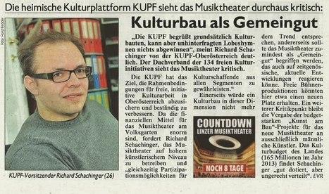 Musiktheater: KULTURBAU ALS GEMEINBAU | OÖ Musiktheater | Scoop.it