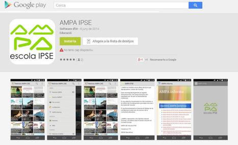 L'AMPA IPSE ja té aplicació APP pel mòbil | Escola i Educació 2.0 | Scoop.it