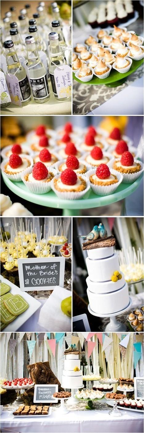Dessert Buffet Ideas - Wedding Ideas, Wedding Trends, and Wedding Galleries | Candy Buffet Weddings, Events, Food Station Buffets and Tea Parties | Scoop.it