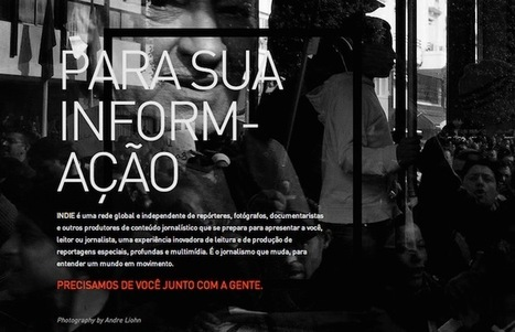 In Brazil, a group of reporters is trying to build an independent platform for in-depth content | Educação e Redes Socias | Scoop.it