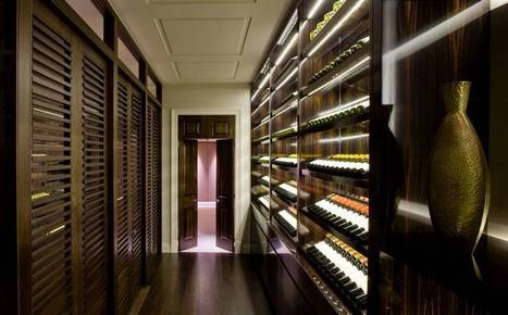 Wine rooms: the new luxury home must-have | Vitabella Wine Daily Gossip | Scoop.it