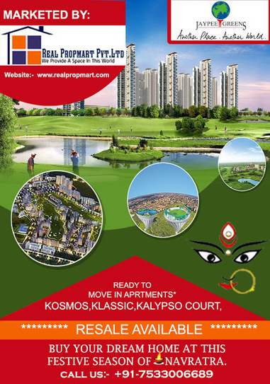 This Navratri in Real Esate Market Noida and Greater Noida You have very Good Opportunity to grab Your Dream Home! ~ Luxury Re – Defined at Jaypee Wish Town Noida : Jaypee Greens Resale | Jaypee Wish Town | Scoop.it