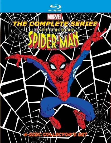 The Spectacular Spider-Man: The Complete Series Coming To Blu-ray In April - Comicbook.com (blog) | Buy Hollywood Dubbed Movies DVD Online | Scoop.it