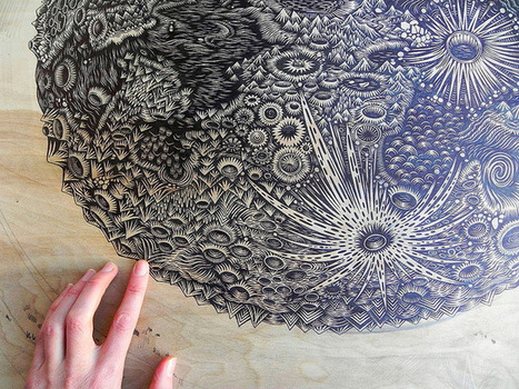 Colossal | A blog about art and visual ingenuity. | Emily Hermant: dibujo espacial I | Scoop.it