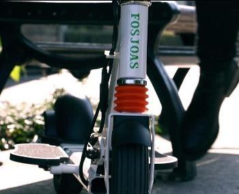 Fosjoas K2 Electric Scooter Is Full Of Humanized Designs. | Press Release | Scoop.it