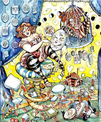 Molly Crabapple | Erotic Comics | Scoop.it