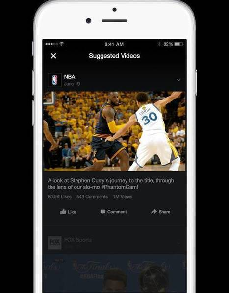 Facebook's New Video Ads Are a Twist on TV's Commercial Break | TV Trends | Scoop.it