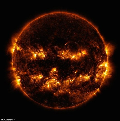 Stunning images of a jack-o-lantern on the surface of the sun | Ciencia, Salud, Enigmas y Prospectiva | Scoop.it