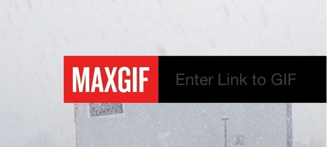 Publish Any Animated GIF as a Full Web Page with MAXGIF | TEFL & Ed Tech | Scoop.it